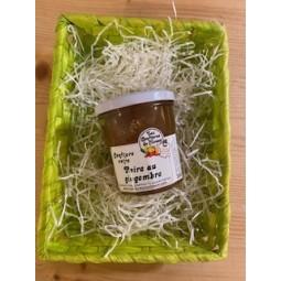 Confiture poire au gingembre