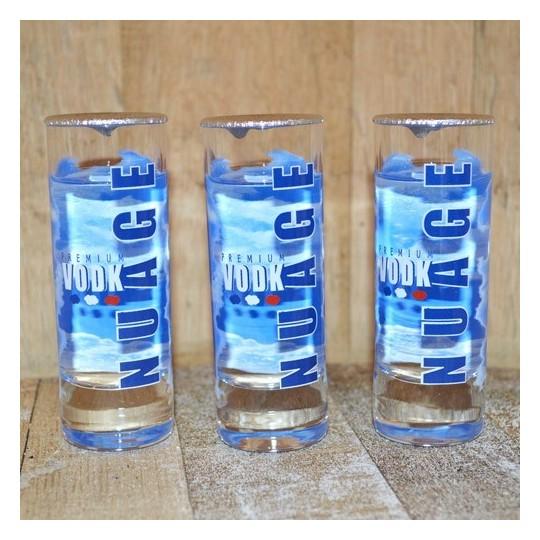 Coffret Vodka Nuage 3 verres