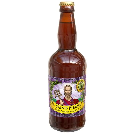 Bière ambrée d'Alsace 50 cl