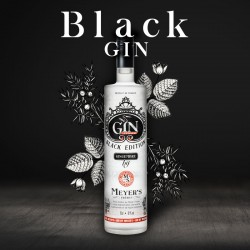 Gin Black Edition by Meyer'S Frères 70 cl